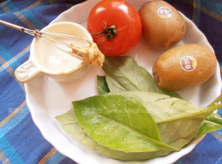 蔬果暖沙拉的做法大全