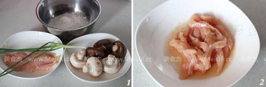 双菇鸡肉疙瘩汤的做法大全