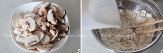 双菇鸡肉疙瘩汤的做法图解