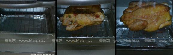 烤全鸡的家常做法