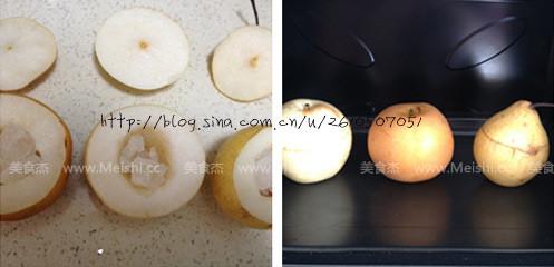 烤生梨的做法图解