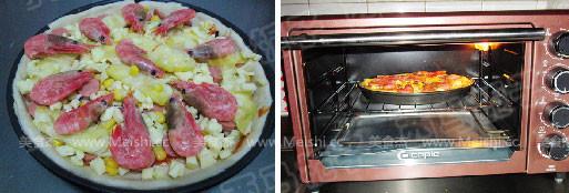 北极虾披萨怎么煮