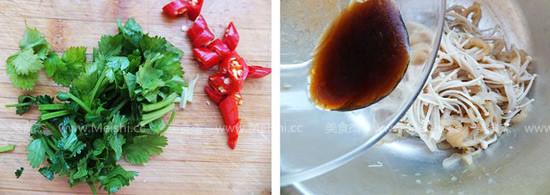 凉拌金针菇海蜇丝的做法图解