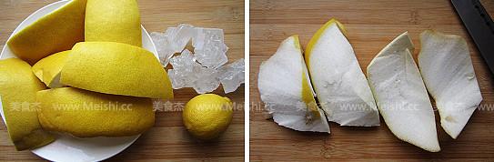 柚皮糖的家常做法