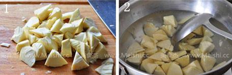 豆酱油焖笋的做法大全
