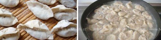 面条菜大肉饺子的简单做法