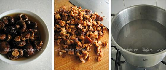 肉末粉丝香菇饼的家常做法