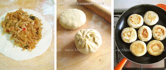 肉末粉丝香菇饼怎么炒