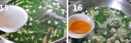 荠菜豆腐羹怎么煮
