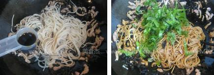 蔬菜肉丝炒面怎么做