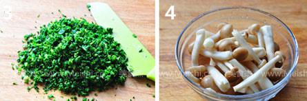 荠菜豆腐羹的做法图解