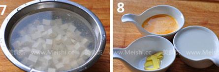 荠菜豆腐羹的简单做法