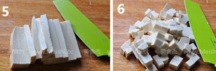 荠菜豆腐羹的家常做法