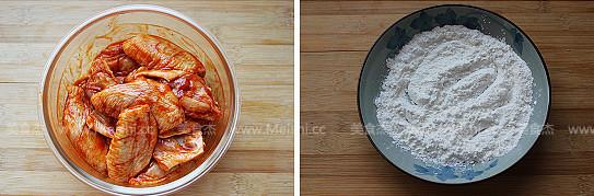 香酥炸鸡翅的简单做法