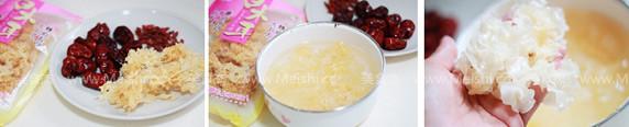 银耳红枣枸杞冰糖水的做法大全
