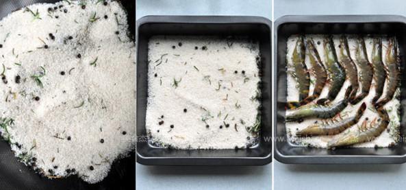迷迭香盐烤大虾的做法图解