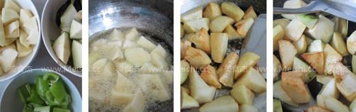 土豆烧茄子的做法大全