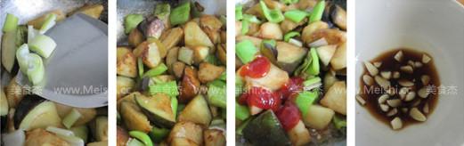 土豆烧茄子的做法图解
