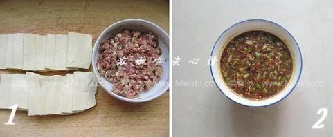 饭盒酱汁豆腐夹的做法大全