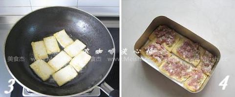 饭盒酱汁豆腐夹的做法图解