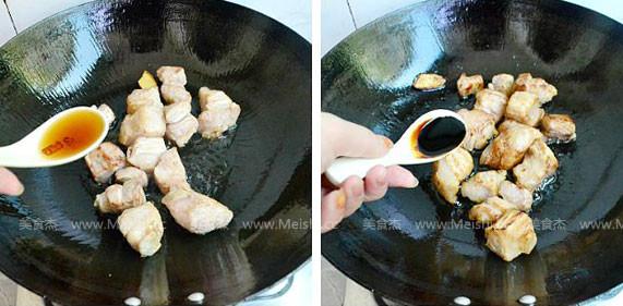 干豆角香焖五花肉的家常做法