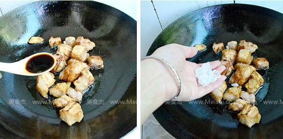 干豆角香焖五花肉的简单做法
