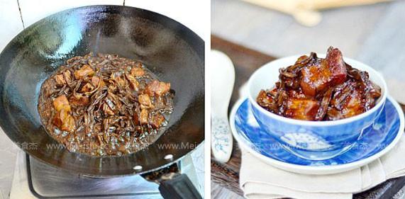 干豆角香焖五花肉怎么炒
