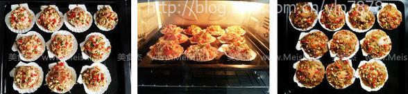 蒜蓉粉丝烤扇贝的家常做法