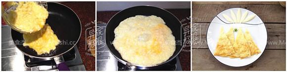 蒲菜涨蛋的家常做法