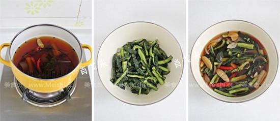 黄瓜咸菜的家常做法