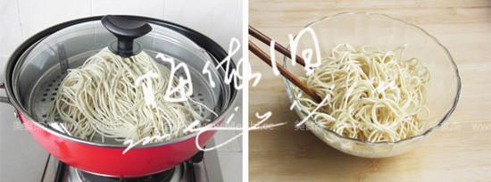 杂蔬肉丝炒面的做法图解