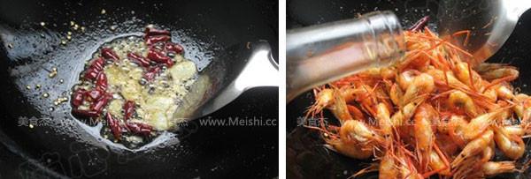 油爆小河虾的简单做法