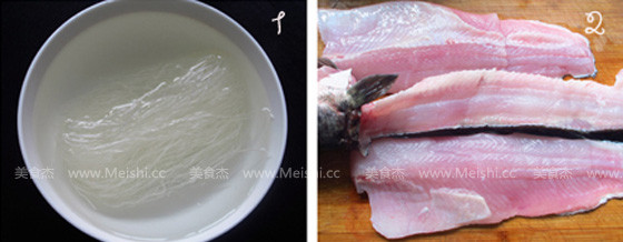 蒜蓉粉丝蒸鱼片的做法大全