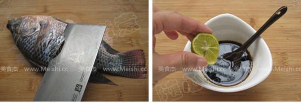 泰式香蒜纸包鱼的做法图解