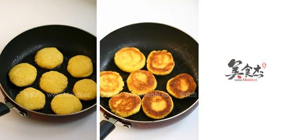 奶香玉米饼的做法图解