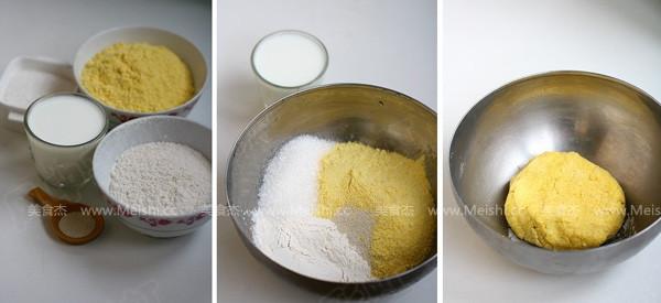 奶香玉米饼的做法大全