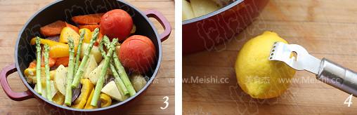 果蔬烤鸡的做法图解