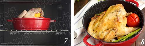 果蔬烤鸡的简单做法
