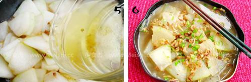 简单美味开洋冬瓜的家常做法