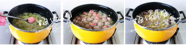 羊肉丸子汤的家常做法