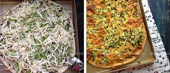 龙利鱼青酱披萨怎么做