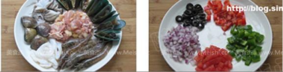 西班牙海鲜烩饭的做法大全