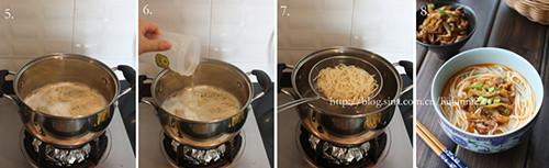 榨菜肉丝面的做法图解