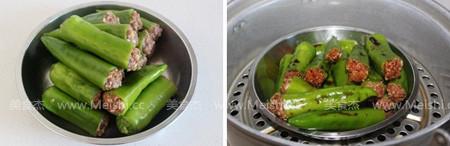 酿馅尖椒的简单做法